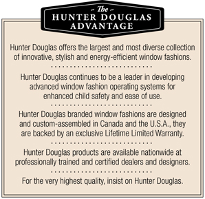 Hunter Douglas Advantage